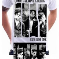 Youth In The Dark (White) Tshirt + CD
